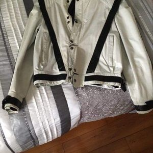 1980 original MJ triller leather jacket.